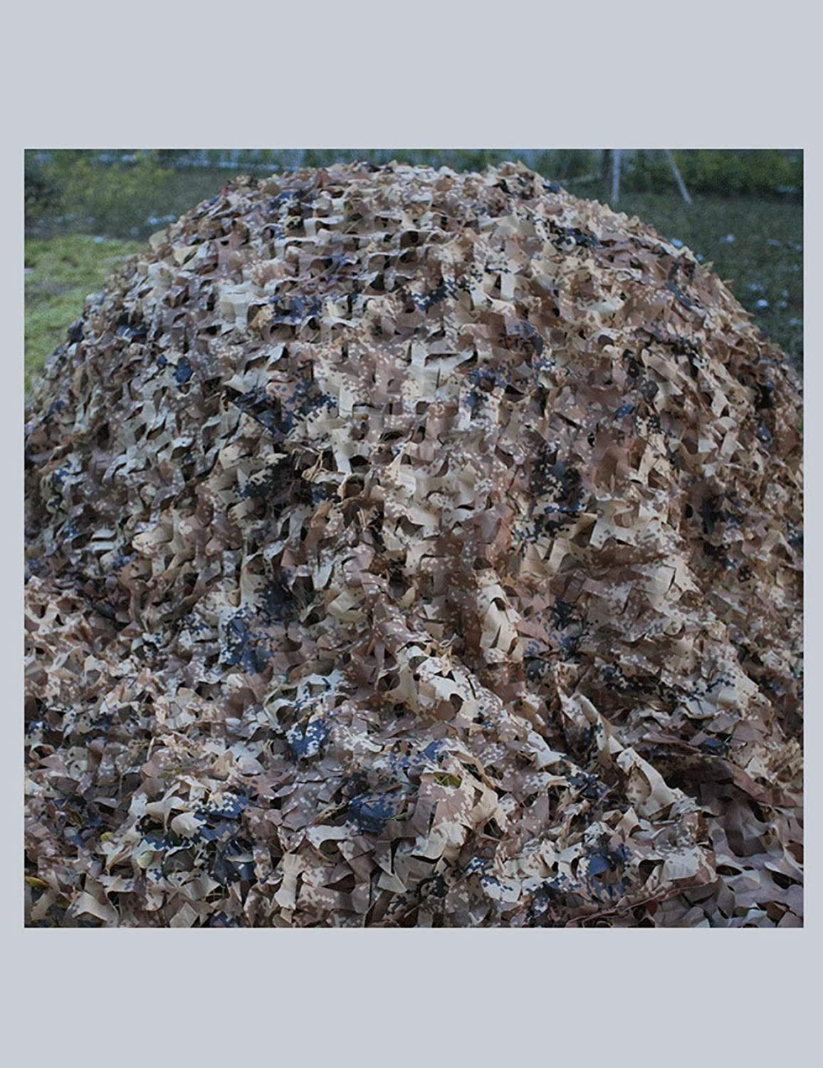 Desert Digital Camouflage Net Camping Camp Shooting Hunting Hidden Party Decoration 2m × 3m (color   10M×10M)