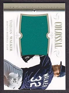 2014 Panini National Treasures Baseball Colossal Jersey #27 Taijuan Walker 59/99 Mariners