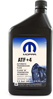 Chrysler (68218057AA) Genuine Mopar Fluid ATF+4 Automatic Transmission Fluid - 1 Quart, 32 Ounces