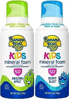 Banana Boat Kids Mineral Foam Twin Pack (Apple & Berry)