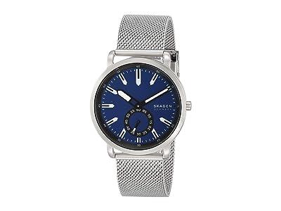 Skagen Colden Three-Hand Mesh Watch (SKW6610 Silver Stainless Steel Mesh) Watches