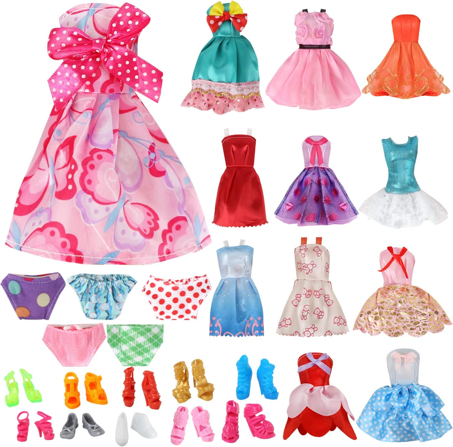 OUFOTAT Doll Clothes for 11.5 Popularity Pcs Very popular Girl 27 Inch