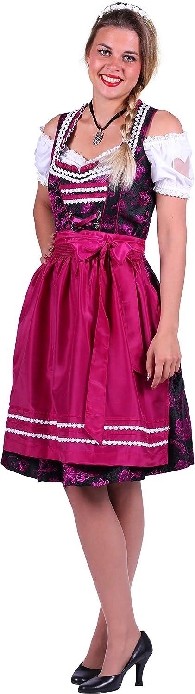 Jannes 2662 Dirndl-Kleid Elisabeth Größe 48 Lila Schwarz B07HKL7NMV Hat einen langen Ruf  | Merkwürdige Form