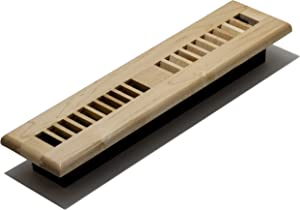 Decor Grates WML214-N Floor Register, 2-Inch by 14-Inch, Natural Maple