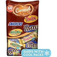60-Piece MARS Chocolate Caramel Lovers Fun Size Candy Bars
