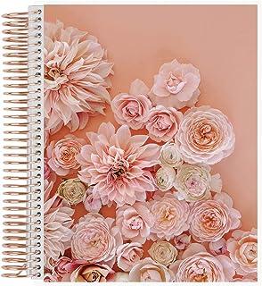 $71 » Green Wedding Shoes x Erin Condren Undated 12-Month Wedding Planner - Blush Metallic Rose Gold, Rose Gold Coil - Calendar ...