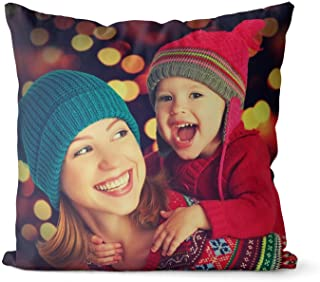 Personalized Face Christmas Pillow Cushion Canvas Linen Suede Birthday Christmas Throw Pillow Custom Kids Face Collage Pillows