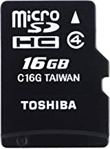 Toshiba M102 - Tarjeta de Memoria Micro SDHC de 16 GB