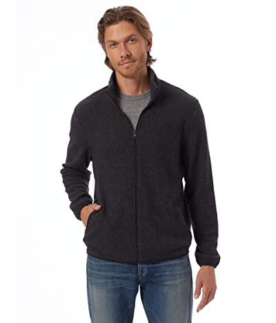 Alternative Eco-Teddy Full Zip Jacket (Eco Black) Men
