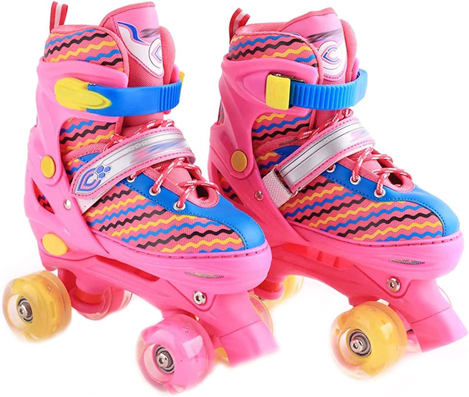 Adjustable Roller Skates New popularity for Girls and Boys Flashing Skate w Mesa Mall Fun