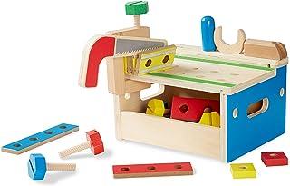 Melissa & Doug Hammer and Saw Tool Bench | Pretend Play | Play Set | 3+ | Gift for Boy or Girl