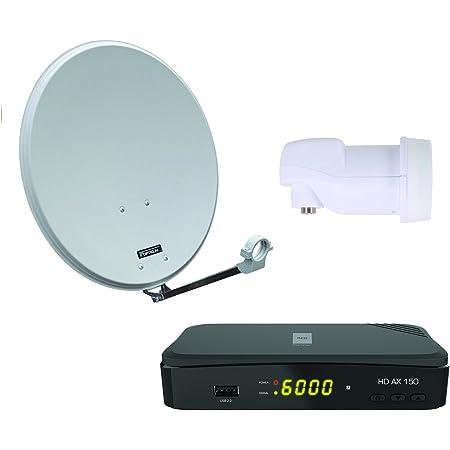 Opticum Digitale 2 Teilnehmer Satelliten Komplettanlage Elektronik
