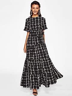 Mosaic Shirt Maxi Dress
