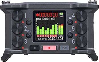 Zoom F6 Field Recorder/Mixer, Professional Field Recording, Audio for Video, 32-Bit Float Recording, 14 Channel Recorder, ...