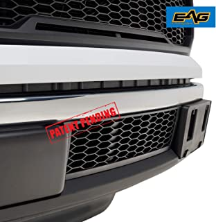 EAG Lower Bumper Grilles Matte Black Grill Fit for 09-14 Ford F150 Bumper