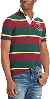 Men's Classic Fit Crest Logo Rugby Shirt