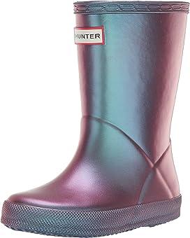 74341f38e6599 Hunter Kids Original Kids  First Classic Gloss Rain Boot (Toddler ...