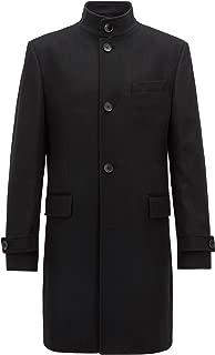 Men's Sintrax Wool-Cashmere Black Coat