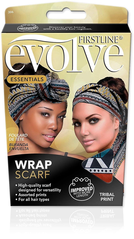Evolve Wrap Scarf - Tribal Print MULTI-COLORED