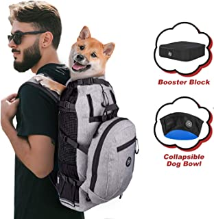 small dog hiking backpack carrier