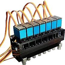 1 st 2CH/3CH/4CH/5CH/6CH/7CH Hydraulische Olieklep Controller Met Servo Voor 1/12 RC Graafmachine Bulldozer Onderdelen (Ma...