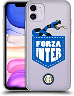 Official Inter Milan Forza Inter 2018/19 The Big Grass Snake Soft Gel Case Compatible for iPhone 11
