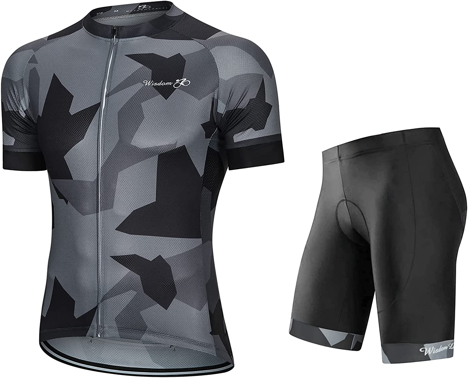 Men's Cycling Jersey Set Short Bicycle Shir Sleeve Road Clothing Limited time cheap sale Spasm price