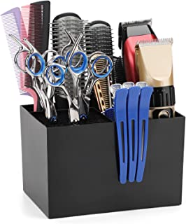 دارنده ابزار بزرگ آرایشگر ، قیچی قیچی آرایش مو حرفه ای Segbeauty ، برس برس موی صندلی ذخیره سازی قفسه مو آرایشگری داماد جعبه ابزار پایه ایستاده برای برس موی کلیپس