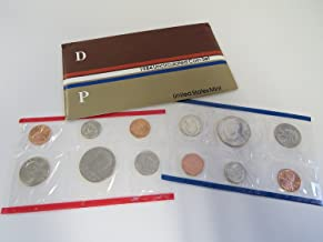 1984 P&D U.S. Mint 10-Coin Uncirculated Set with Original Government Packaging Uncirculated