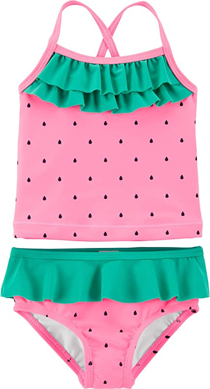 Carter S Girls Two Piece Swimsuit