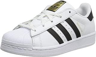 adidas Originals Superstar C Basketball Shoe (Little Kid),White/Black/White,12.5 M US Little Kid