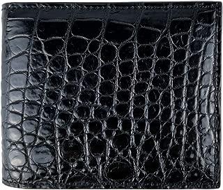 crocodile bifold wallet