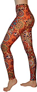 Comfy Yoga Pants - High Waisted Yoga Leggings Bohemian Print - Extra Soft - Dry Fit