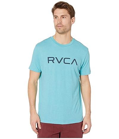 RVCA Big RVCA T-Shirt Shot Sleeve (Bermuda Blue) Men