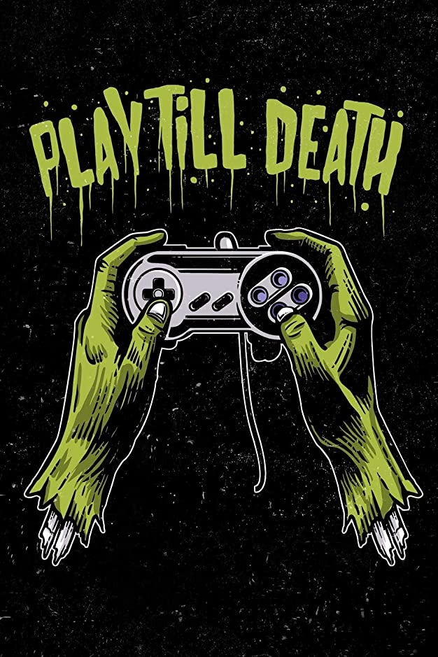Play Till Death: Zombie Gamer Calendar 2019 Daily Weekly Planner For Men, Women, Teen and Kids