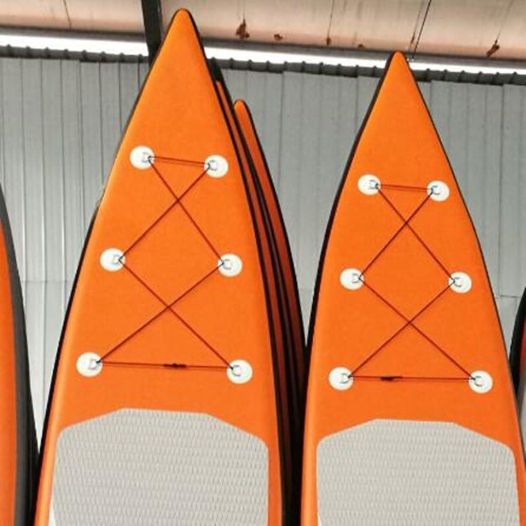 dailymall 6 Pi/èces//Ensemble 3.15 `` 316 en Acier Inoxydable D Anneau Pad//Patch pour PVC Bateau Gonflable Radeau D/ériveur Cano/ë Kayak Planche de Surf
