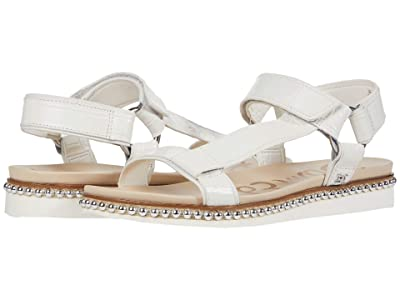 Sam Edelman Annalise (Bright White Shiro Croco Leather/Bally Premium Leather) Women