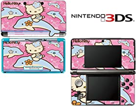 Hello Kitty Dophin Princess Decorative Video Game Decal Cover Skin Protector for Nintendo 3Ds (not 3DS XL)