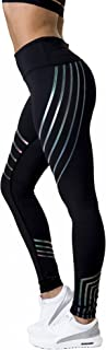Morbuy Damen Leggings, Morbuy Sport Gym Yoga Workout Pants Basic Fitness Hohe Taille Jogginghose Trainingshose Skinny Hosen Hose Sporthose L, Schwarz