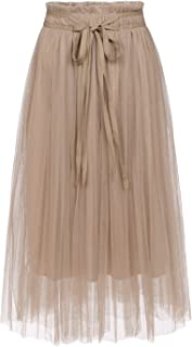 romantic tulle skirts