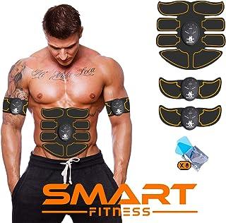 comprar comparacion 【ÚLTIMA VERSIÓN 2020】 Smart Fitness™ Electroestimulador Muscular Abdominal, Tonificador Abdomen, Electroestimulacion Abdom...