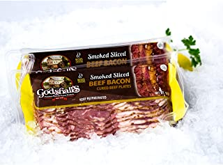 Beef Bacon 12 Oz Package, 4 Pkg