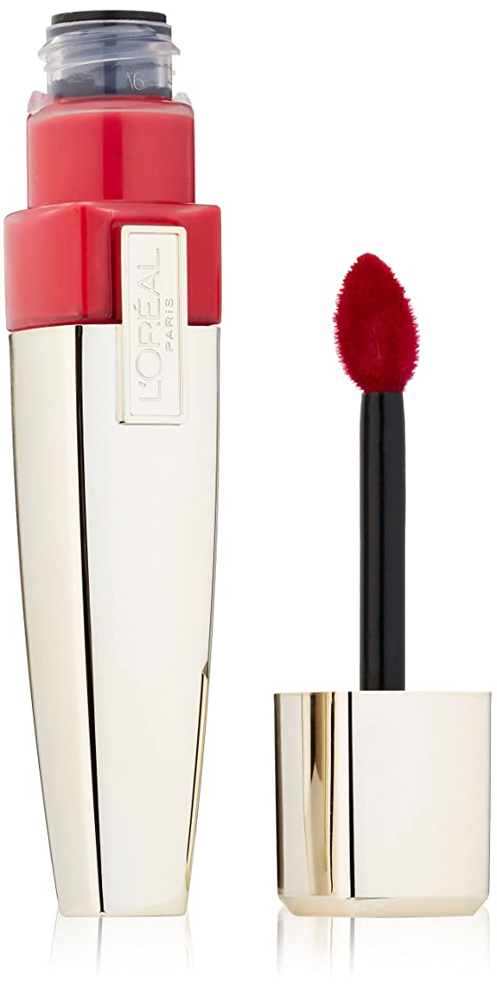 L'OREAL CARESSE WET SHINE LIP STAIN #190 ENDLESS RED