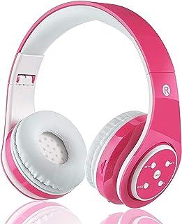 Kinderen Draadloze Bluetooth-hoofdtelefoon met microfoonvolume Beperkt opvouwbare oortelefoon Kinderen Stereo On Ear-heads...