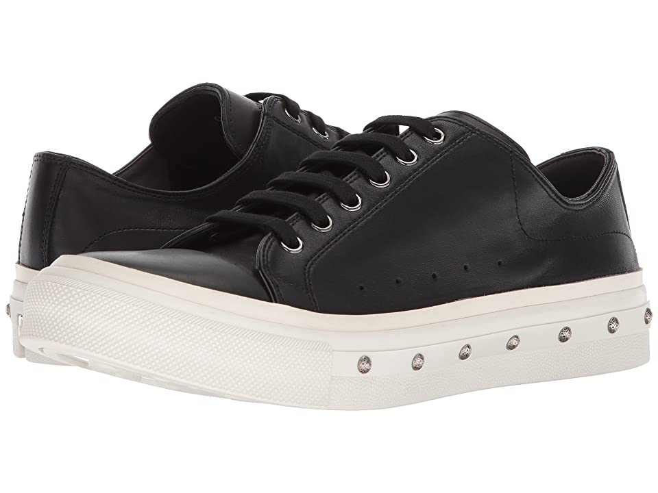 Alexander McQueen Studded Low Top Sneaker (Black) Men
