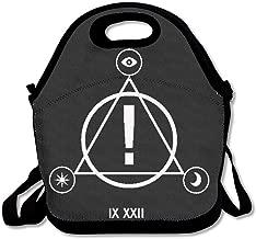 JUCHen Panic At The Disco Logo Lunch Bag Tote Handbag