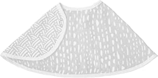 Aden by aden + anais Burpy Bib, 100% Cotton Muslin, Soft Absorbent 4 Layers, Multi-Use Burp Cloth and Bib, 22.5 X 11, Single, Pasture - Drips