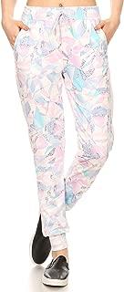 ShoSho Womens Joggers Track Pants Mesh Panels Super Soft Sweatpants Pockets