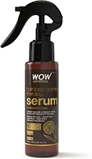 WOW Skin Science Hair Loss Control Therapy Serum - No Parabens, Mineral Oil, Silicones & Fragrances - 100 mL