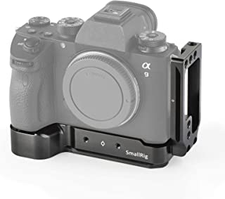SmallRig Sony A7III/A7M3/A7RIII/A9専用ケージ L-ブラケットキット Sony A7III/A7M3/A7RIII/A9対応 DSLR 装備 拡張カメラケージ 軽量 取付便利 耐久性 耐食性-2122